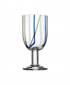 Contrast wine glass multicolour