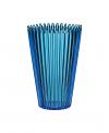 Cupcake blue vase