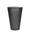 Cupcake grey vase
