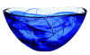 Contrast large bowl in blue