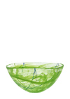 Contrast large bowl in lime
