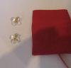 Hortensia earrings gold clip clear