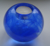 Cool Moon blue tea light holder