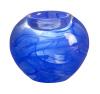 Cool Moon small blue tea light holder