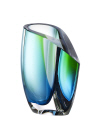 Mirage vase green blue