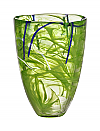Contrast vase lime