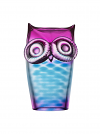 My Wide Life owl blue/pink